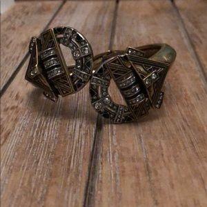 Chloe + isabel amulet hinged bracelet